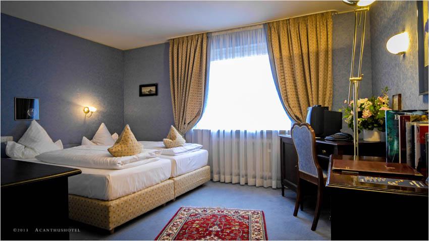 Zimmer im Acanthushotel München
